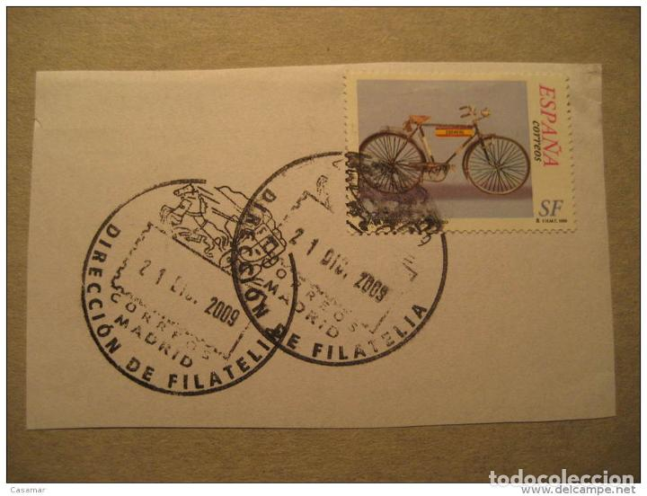 Usado, Madrid 2009 Direccion Filatelia Stage Coach Stage-coach Bike Cycling Postage Pai segunda mano