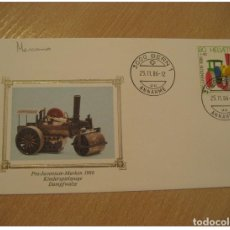 Sellos: MECCANO MECANO BERN 1986 FDC CANCEL COVER SWITZERLAND TOY TOYS JOUET JOUETS GAME. Lote 206104828