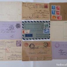 Sellos: CONJUNTO DE 9 FILATELIA, CARTE POSTAL EUROPA, ENVIO GRATIS ESPAÑA. Lote 209850385