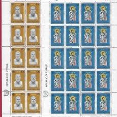Sellos: EUROPA. CHIPRE 1980.20 SERIES.. Lote 212077407