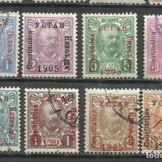 Selos: SO73-LOTE SELLOS MONTENEGRO CLASICOS, PRINCIPE NICOLAS 1905, ANTIGUOS.. Lote 216586407