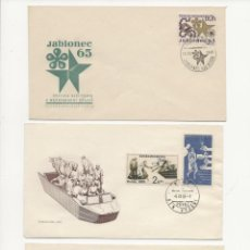 Sellos: LOTE TRES S.P.D. CHECOSLOVAQUIA 1965. Lote 217255402