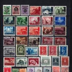 Sellos: LOTE DE ANTIGUOS SELLOS DE CROACIA, SERBIA Y ALBANIA NUEVOS Y USADOS. Lote 217647372