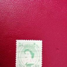 Selos: GIBRALTAR - VALOR FIVE - REINA ISABEL II. Lote 219420461