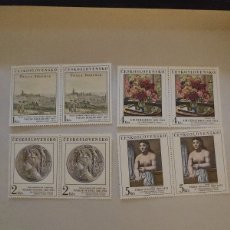 Sellos: CHECOSLOVAQUIA 1981 ARTE. PINTURA. 2464/68 PABLO PICASSO. Lote 222482053