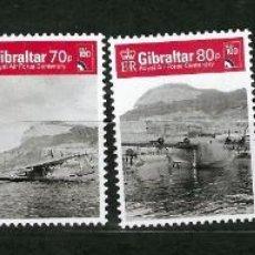 Sellos: GIBRALTAR Nº 1858 AL 1863 (**). Lote 222601688