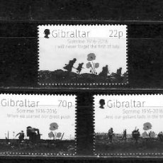 Sellos: GIBRALTAR Nº 1727 AL 1731 (**). Lote 222630507