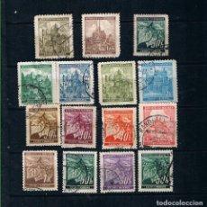 Sellos: BOHEMIA MORAVIA 1939 PROTECTORADO ALEMANIA GUERRA MUNDIAL - LOTE 15 SELLOS ANTIGUOS. Lote 222647443