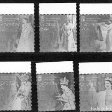 Sellos: GIBRALTAR Nº 1774 AL 1779 (**). Lote 222671096