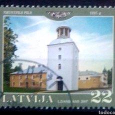 Sellos: LETONIA 2007 PANORÁMICAS SELLO USADO. Lote 227109550
