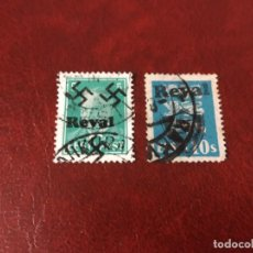 Sellos: REVAL ESTONIA OCUPADA SEGUNDA GUERRA MUNDIAL WWII.. Lote 228330460