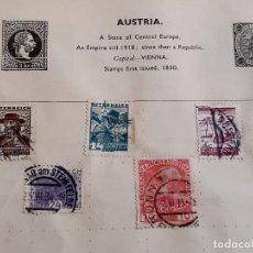 Sellos: AUSTRIA LOTE DE SELLOS STAMP. Lote 232505980