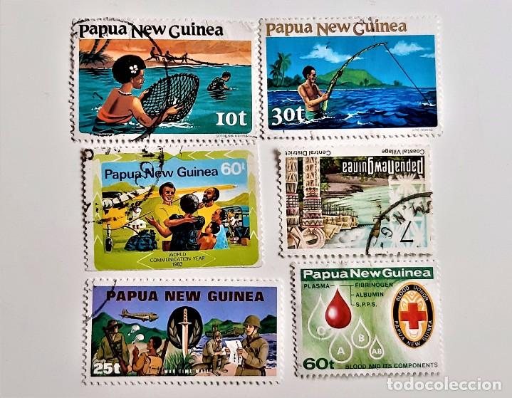 PAPAPUA NEW GUINEA LOTE DE SELLOS STAMP (Sellos - Extranjero - Europa - Otros paises)