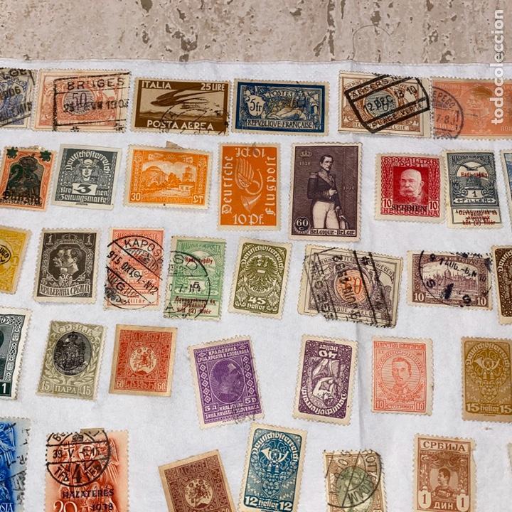 Sellos: Lote de 118 sellos españa y otros países siglo XIX y XX. Para coleccionar - Foto 3 - 233936555