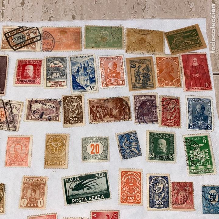 Sellos: Lote de 118 sellos españa y otros países siglo XIX y XX. Para coleccionar - Foto 4 - 233936555