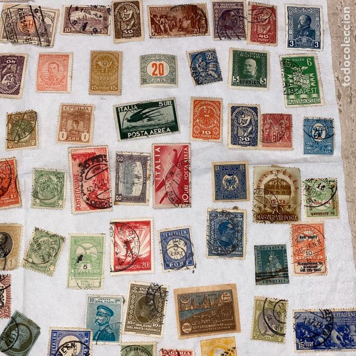 Sellos: Lote de 118 sellos españa y otros países siglo XIX y XX. Para coleccionar - Foto 5 - 233936555