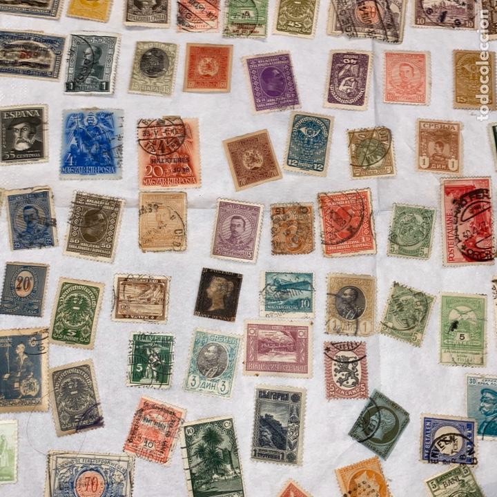 Sellos: Lote de 118 sellos españa y otros países siglo XIX y XX. Para coleccionar - Foto 6 - 233936555