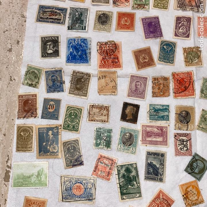 Sellos: Lote de 118 sellos españa y otros países siglo XIX y XX. Para coleccionar - Foto 7 - 233936555