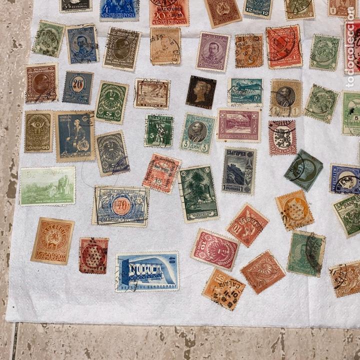 Sellos: Lote de 118 sellos españa y otros países siglo XIX y XX. Para coleccionar - Foto 8 - 233936555