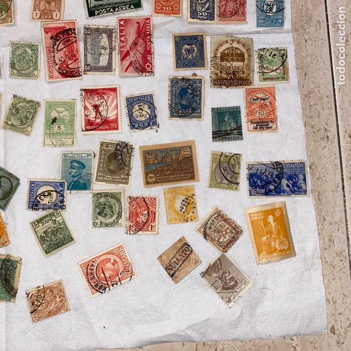 Sellos: Lote de 118 sellos españa y otros países siglo XIX y XX. Para coleccionar - Foto 9 - 233936555