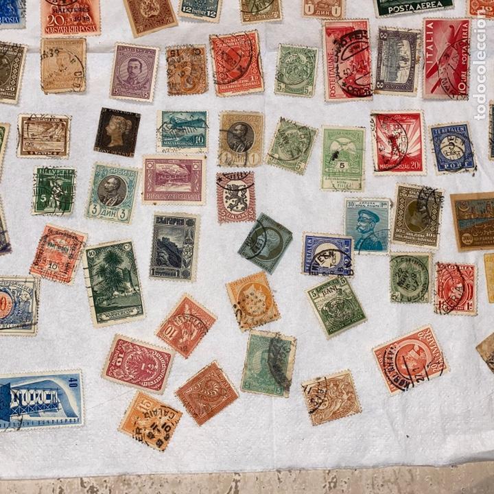 Sellos: Lote de 118 sellos españa y otros países siglo XIX y XX. Para coleccionar - Foto 10 - 233936555