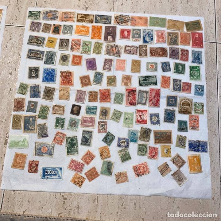 Sellos: Lote de 118 sellos españa y otros países siglo XIX y XX. Para coleccionar - Foto 11 - 233936555
