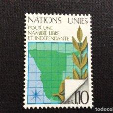 Sellos: NACIONES UNIDAS GINEBRA Nº YVERT 85*** AÑO 1979. NAMIBIA LIBRE E INDEPENDIENTE. Lote 238886465