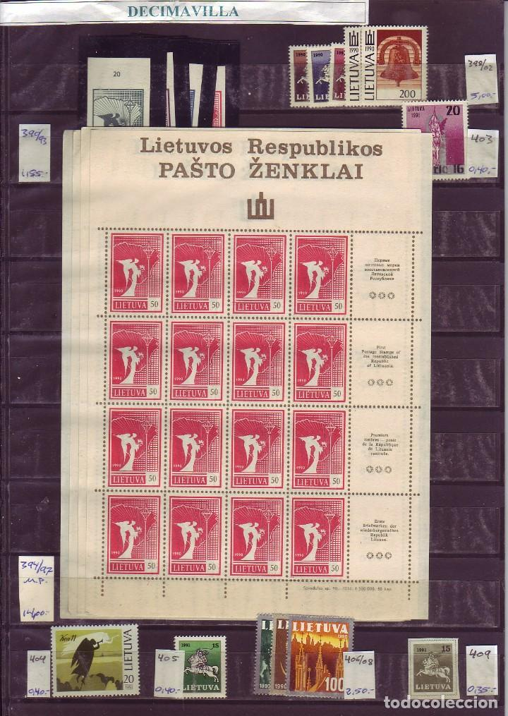 LOTE564, LITUANIA, INDEPENDENCIA, PRIMERAS EMISIONES (Sellos - Extranjero - Europa - Otros paises)