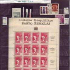 Sellos: LOTE564, LITUANIA, INDEPENDENCIA, PRIMERAS EMISIONES. Lote 241518580