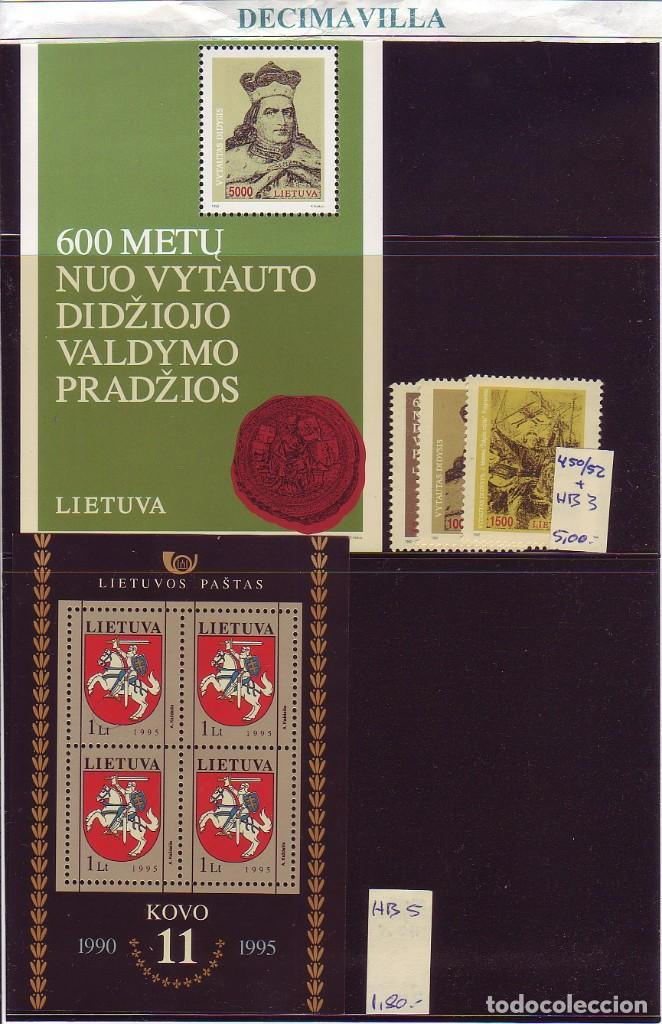 Sellos: LOTE564, LITUANIA, INDEPENDENCIA, PRIMERAS EMISIONES - Foto 3 - 241518580