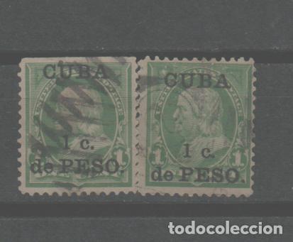 LOTE M- SELLOS CUBA ESTADOS UNIDOS (Sellos - Extranjero - Europa - Otros paises)