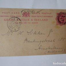 Sellos: POST CARD,, HISTORIA POSTAL INGLATERRA E IRLANDA 1906. Lote 242342060