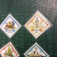 Sellos: SELLOS. JAMBOREE SCOUT. GHANA. Lote 245426975