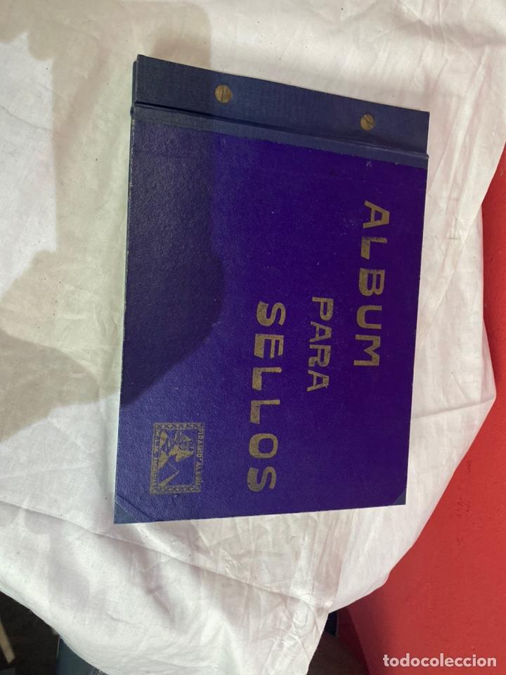 Sellos: Album de sellos antiguo internacionales - Foto 2 - 253624090