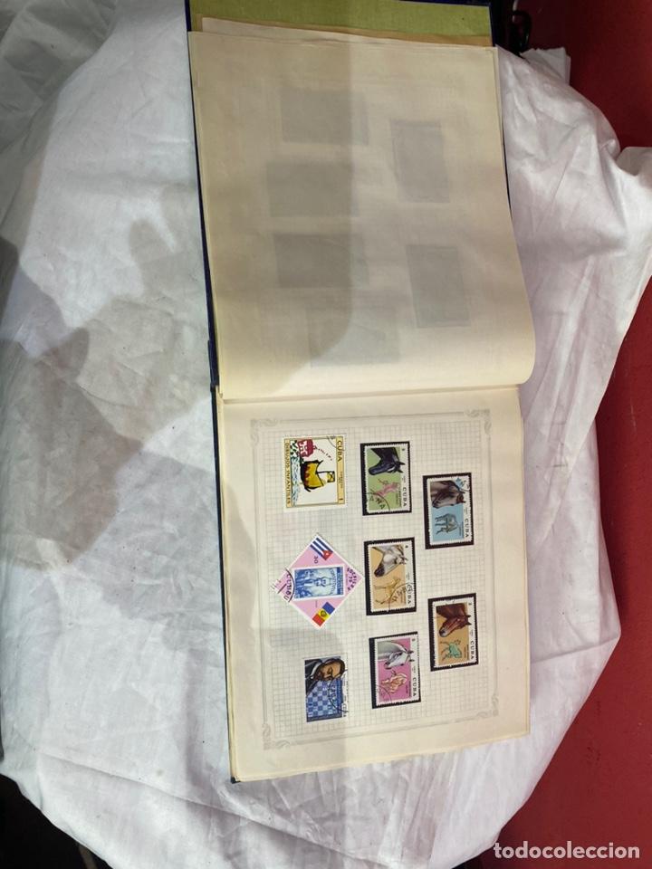 Sellos: Album de sellos antiguo internacionales - Foto 7 - 253624090