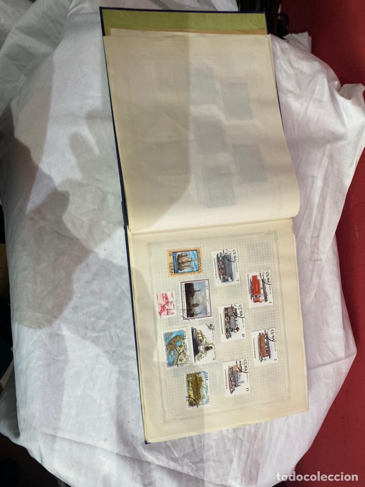 Sellos: Album de sellos antiguo internacionales - Foto 8 - 253624090