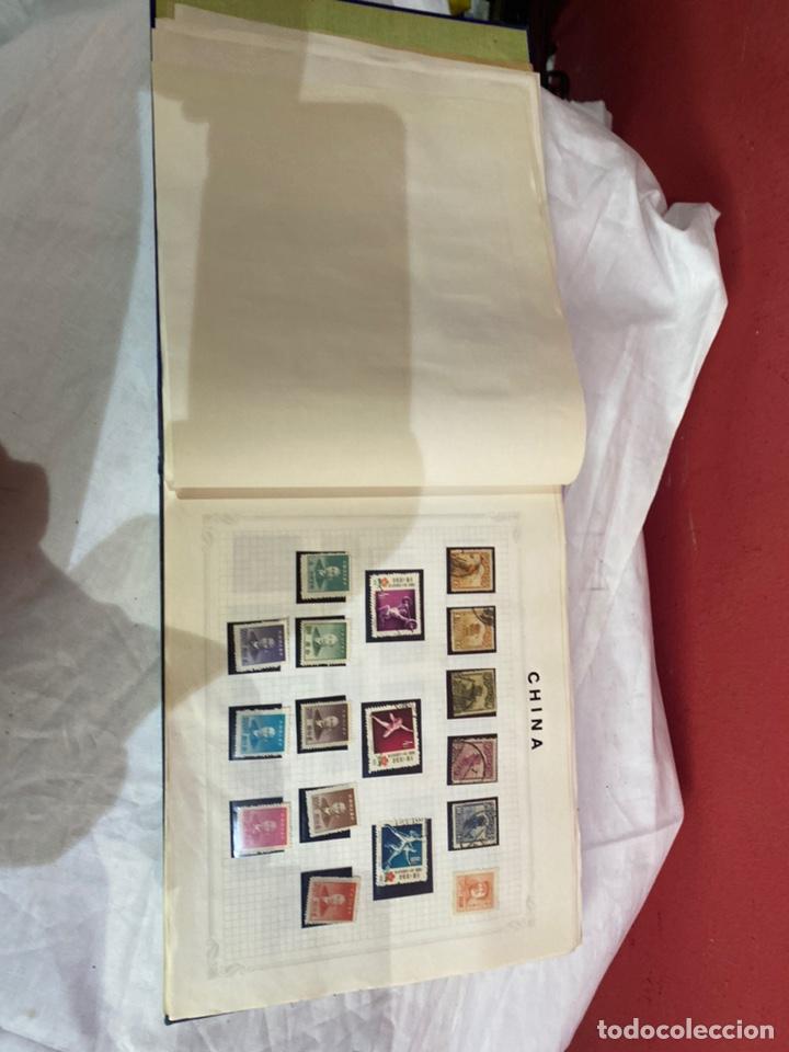 Sellos: Album de sellos antiguo internacionales - Foto 12 - 253624090