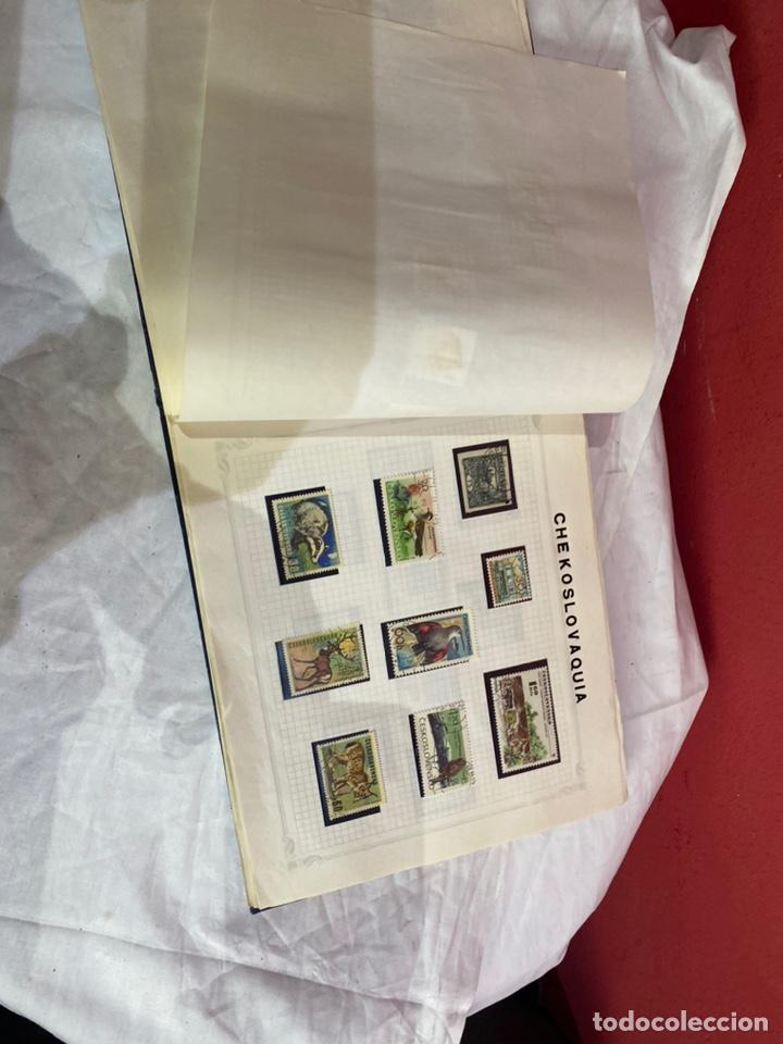 Sellos: Album de sellos antiguo internacionales - Foto 14 - 253624090