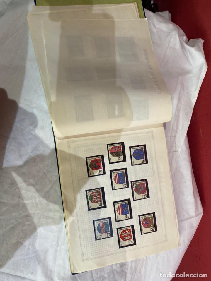 Sellos: Album de sellos antiguo internacionales - Foto 15 - 253624090