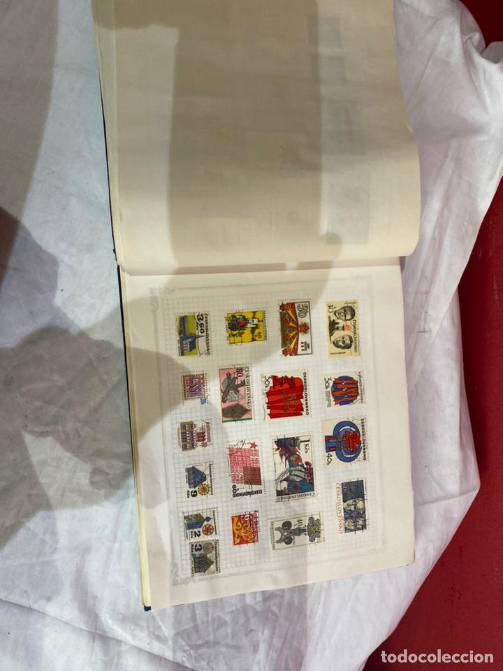 Sellos: Album de sellos antiguo internacionales - Foto 18 - 253624090