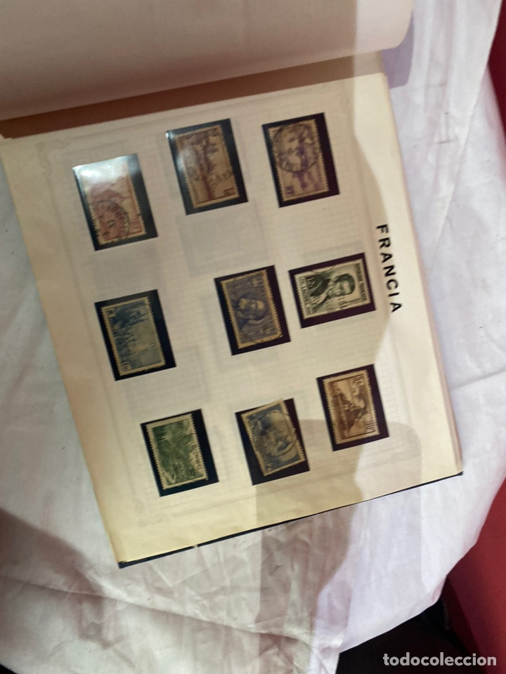 Sellos: Album de sellos antiguo internacionales - Foto 42 - 253624090