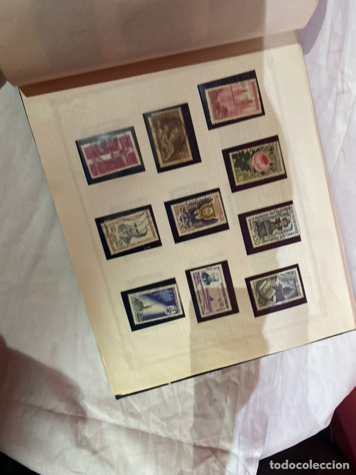Sellos: Album de sellos antiguo internacionales - Foto 44 - 253624090
