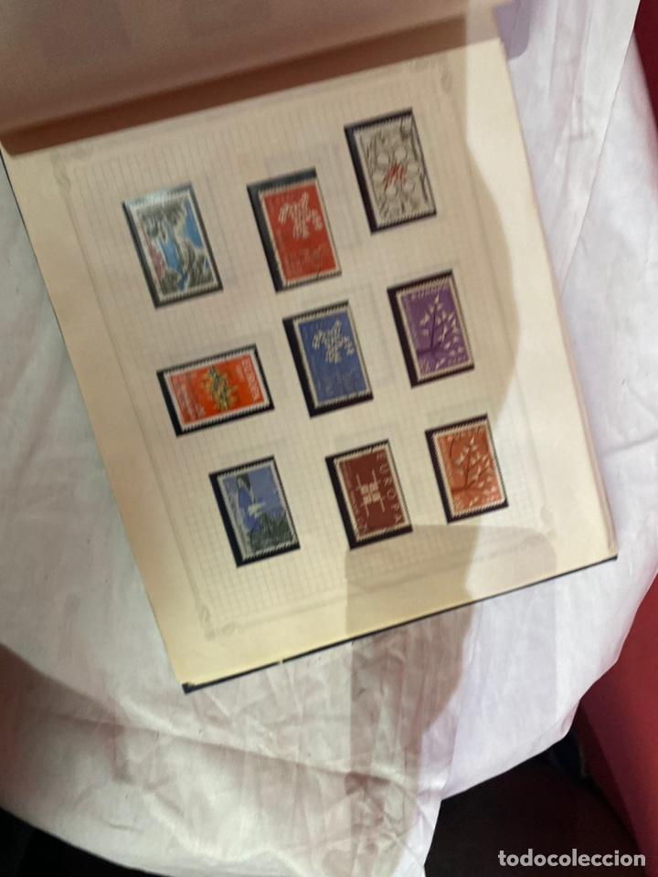 Sellos: Album de sellos antiguo internacionales - Foto 45 - 253624090