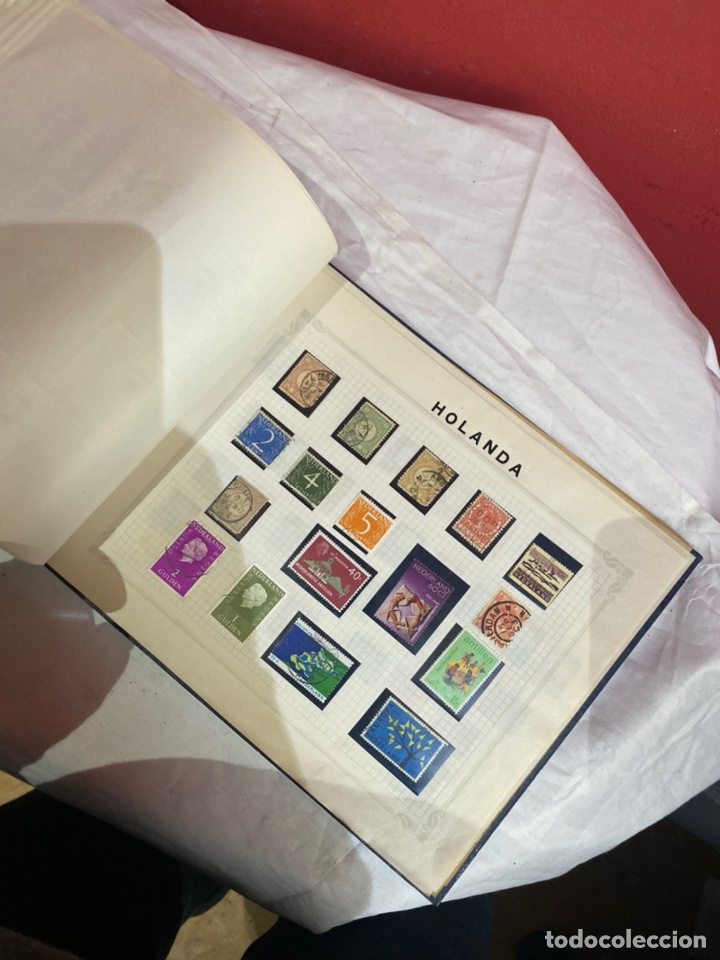 Sellos: Album de sellos antiguo internacionales - Foto 85 - 253624090