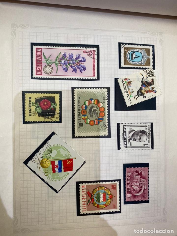 Sellos: Álbum de sellos antiguos internacional - Foto 6 - 253626690