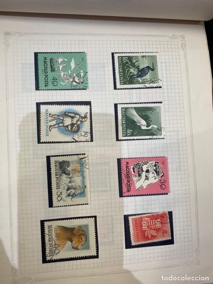 Sellos: Álbum de sellos antiguos internacional - Foto 8 - 253626690