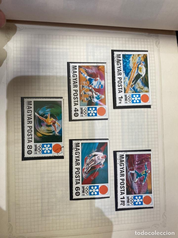 Sellos: Álbum de sellos antiguos internacional - Foto 10 - 253626690