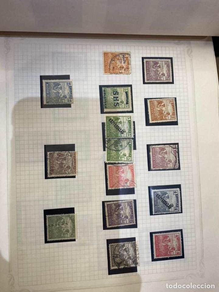 Sellos: Álbum de sellos antiguos internacional - Foto 12 - 253626690