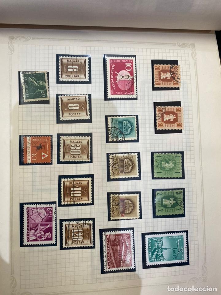 Sellos: Álbum de sellos antiguos internacional - Foto 13 - 253626690