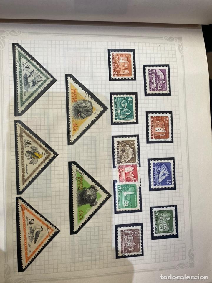 Sellos: Álbum de sellos antiguos internacional - Foto 15 - 253626690